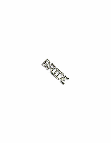 Rhinestone Bride Pin