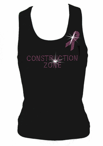 Breast Cancer Construction Zone T-Shirt