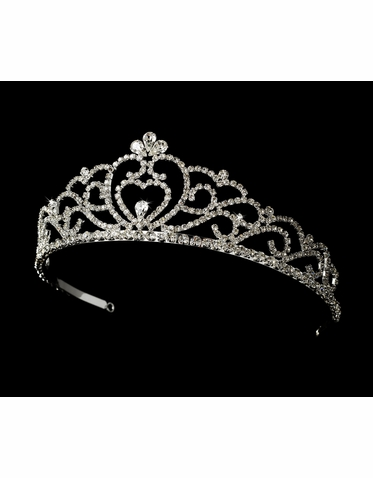 Rhinestone Tiara - Available in 6 Colors!