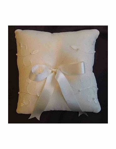 Ivy Silk Shantung Ring Bearer Pillow