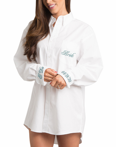 Classic White Oxford Getting Ready Shirt