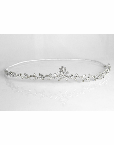 CLEARANCE: Wave Rhinestone Tiara by J.L. Johnson Bridals
