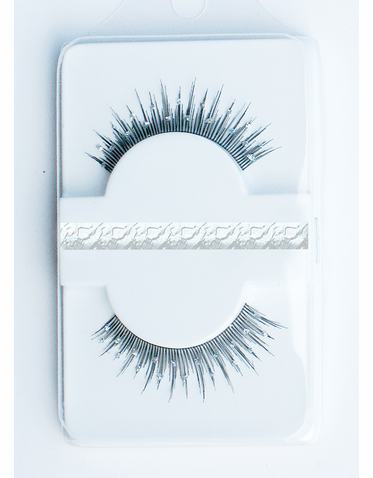 Dramatic  Crystal Eyelashes - False Eyelashes with Crystals!