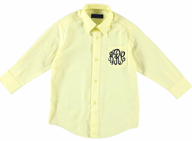 Flower Girl Oxford Shirt