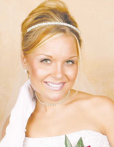 Narrow Crystal and Rhinestone Headband Tiara