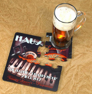Personalized Coaster Puzzles