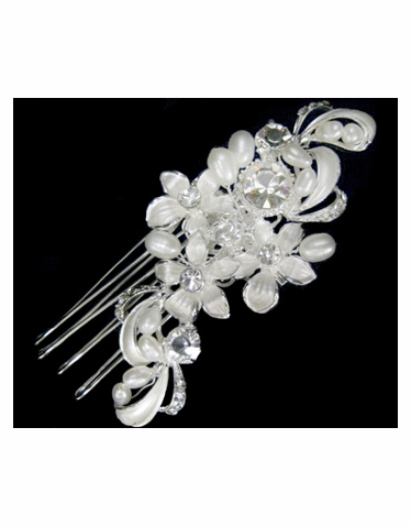 Wedding or Bridal Brooch or Hair Comb-309