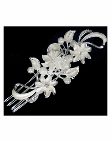 Wedding or Bridal Brooch or Hair Comb-310