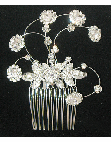 CLEARANCE: Erica Koesler Bridal Hair Comb A-5373T
