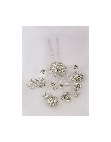 CLEARANCE: Erica Koesler Bridal Hairpin A5370T - In Stock and Ready to Ship!