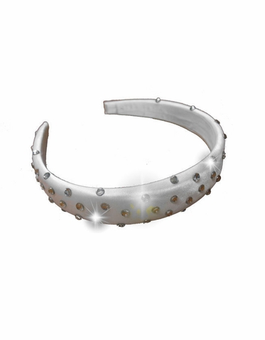 Clear Crystal Embellished Headband