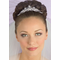 CLEARANCE: Silver Headpiece with Comb TR1307
