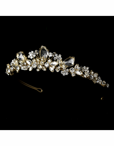 Gold Plated Bridal Tiara HP 8237