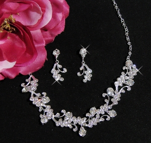 Crystal Jewelry Set NE-7035