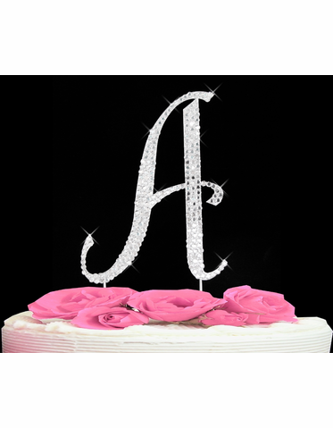 Cake Initial Toppers Letter Cake Topper A