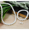 Bridal Pearl Jewelry Set with Swarovski Pearls - Choose From Dozens of Pearl Colors!