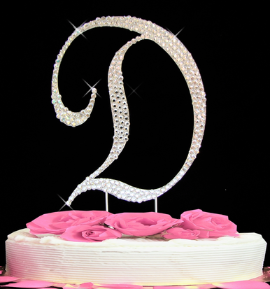 Letter Cake Topper Cake Initial Toppers D