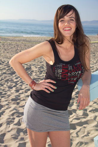 Love Heart Tank - Heart Love Shirt