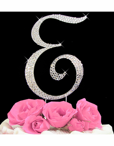 Letter Cake Topper Cake Initial Toppers E