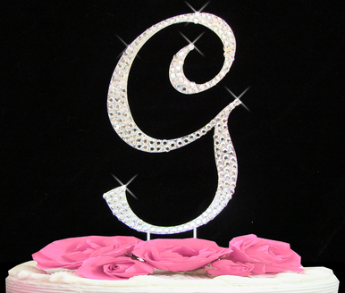 Letter Cake Topper Cake Initial Toppers G
