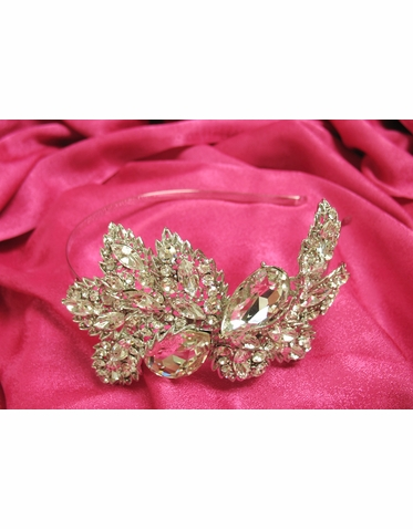 Bling! Large Rhinestone Bridal Headband