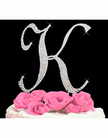 Letter Cake Topper Cake Initial Toppers K