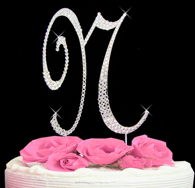 Letter Cake Topper Cake Initial Toppers N