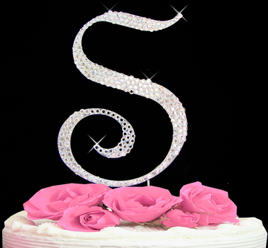 Letter Cake Topper Cake Initial Toppers S