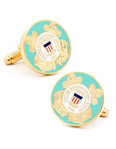 United States Coast Guard Cufflinks
