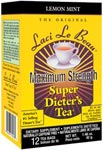 Super Dieters Tea Maximum Strength Lemon Mint <br>12 count
