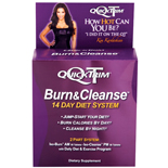 QuickTrim Burn and Cleanse 14 Day Diet System 56 Caplets