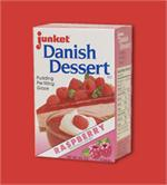 Junket Raspberry Danish Dessert