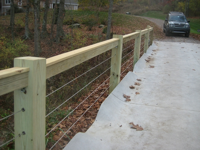 Cable railing systems by stainless