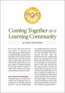 Coming Together as a Learning Community &ndash; <i>Free e-Resource</i>