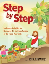 Step by Step: <I> Lectionary Activity Book for Kids (ages 3-7) </I>