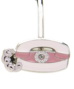 Princess Finders Key Purse Fone Finder