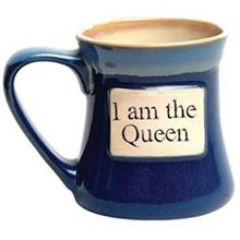 I Am The Queen Tumbleweed Classic Word Oversized Coffee Mug-OOS