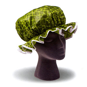 Ore Living Goods Crocodile Shower Cap