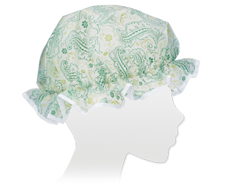 Ore Living Goods Vintage Paisley Shower Cap