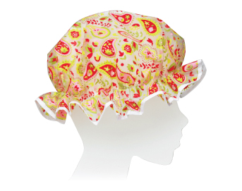 Ore Living Goods Pink Paisley Shower Cap