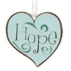 Hope Heart Finders Key Purse