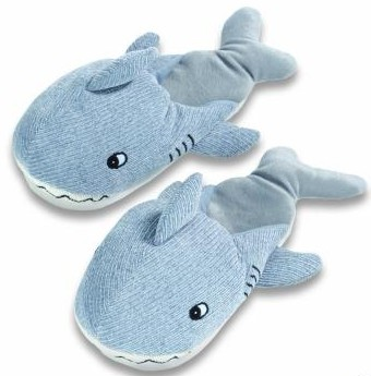 Kids Dezi AniMules Shark Slippers -Toddler Size
