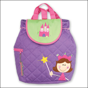 Stephen Joseph Kids Princess Quilted Backpack