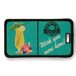 Finders Key Purse Wish You Were Here Not Just A Luggage Tag