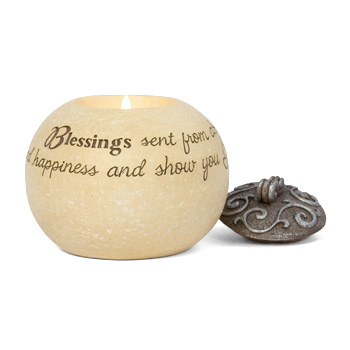 Comfort to Go Blessings Candle by Pavilion Gift