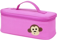 Four Peas Pink Monkey Supply Bag