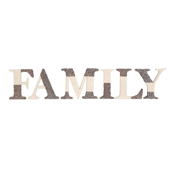 Comfort to Go Family Freestanding Letters by Pavilion Gift