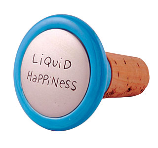 Our Name is Mud Liquid Happiness Wine Stopper