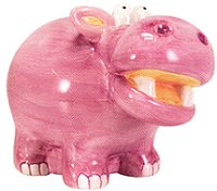 Hippo Money Bank by Waxcessories