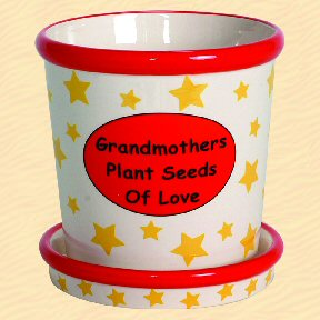 Grandmothers Plant Seeds Of Love Tumbleweed Whimsical Planter